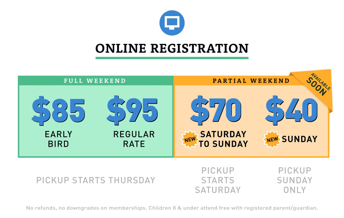 Online Registration: $85 Early Bird, $95 Regular Rate.