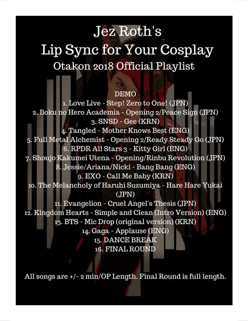 Jez Roths Lip Sync for Your Cosplay 2018.jpg